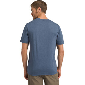 Prana Trail SS T-Shirt Men denim heather